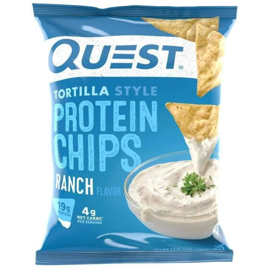 Quest Protein Chips, Tortilla Style, Ranch Flavor - 1.1 oz