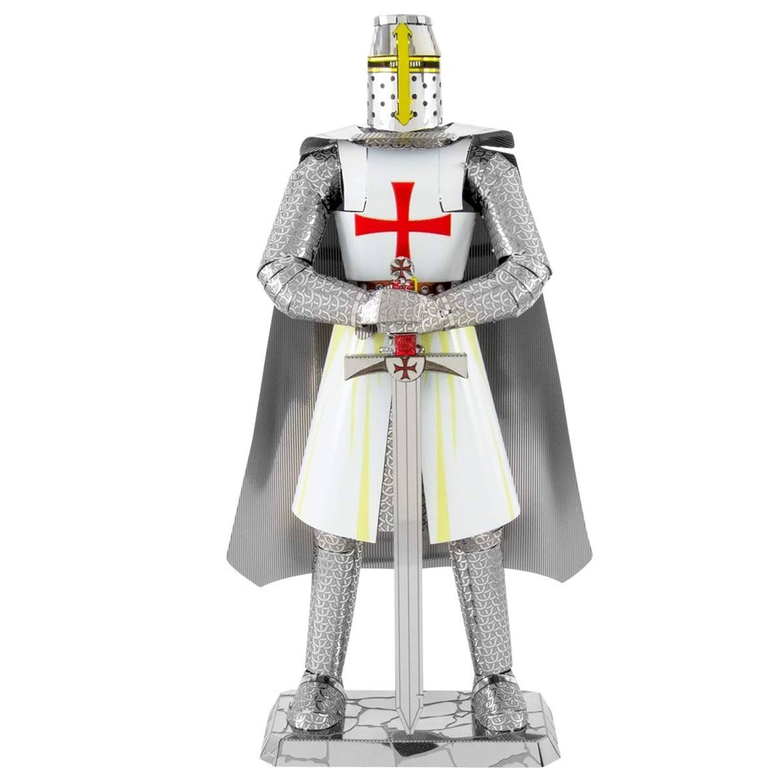 Fascinations ICONX Templar Knight 3D Metal Model Kit