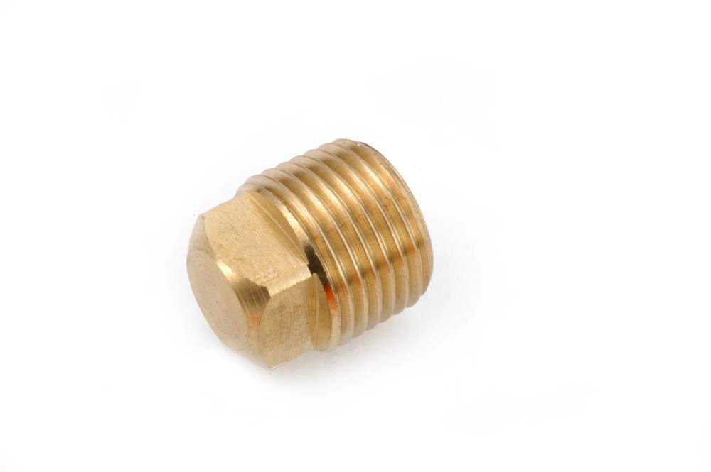 Anderson Metal Corporation Pipe Plug - Brass