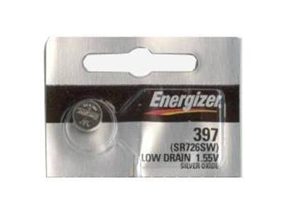 Energizer 397 396 Coin Cell Batteries - Silver Oxide, 1.55V