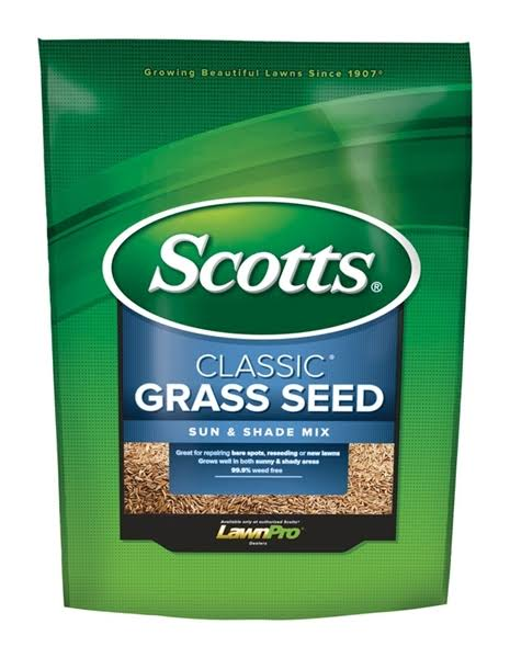 Scotts Turf Builder Lawns Classic Sun and Shade Grass Seed - 3lbs