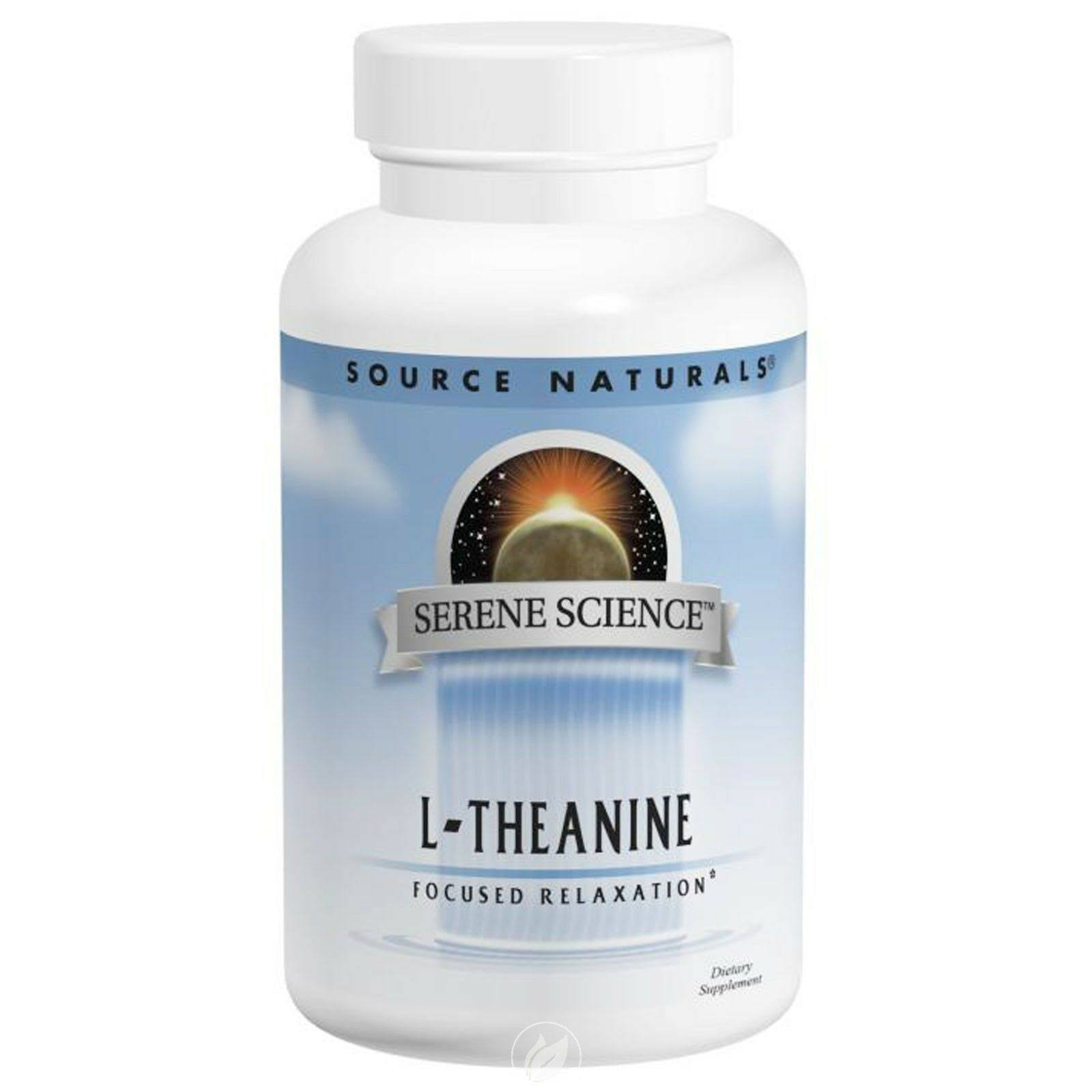 Source Naturals L-Theanine Supplement - 200mg, 60ct