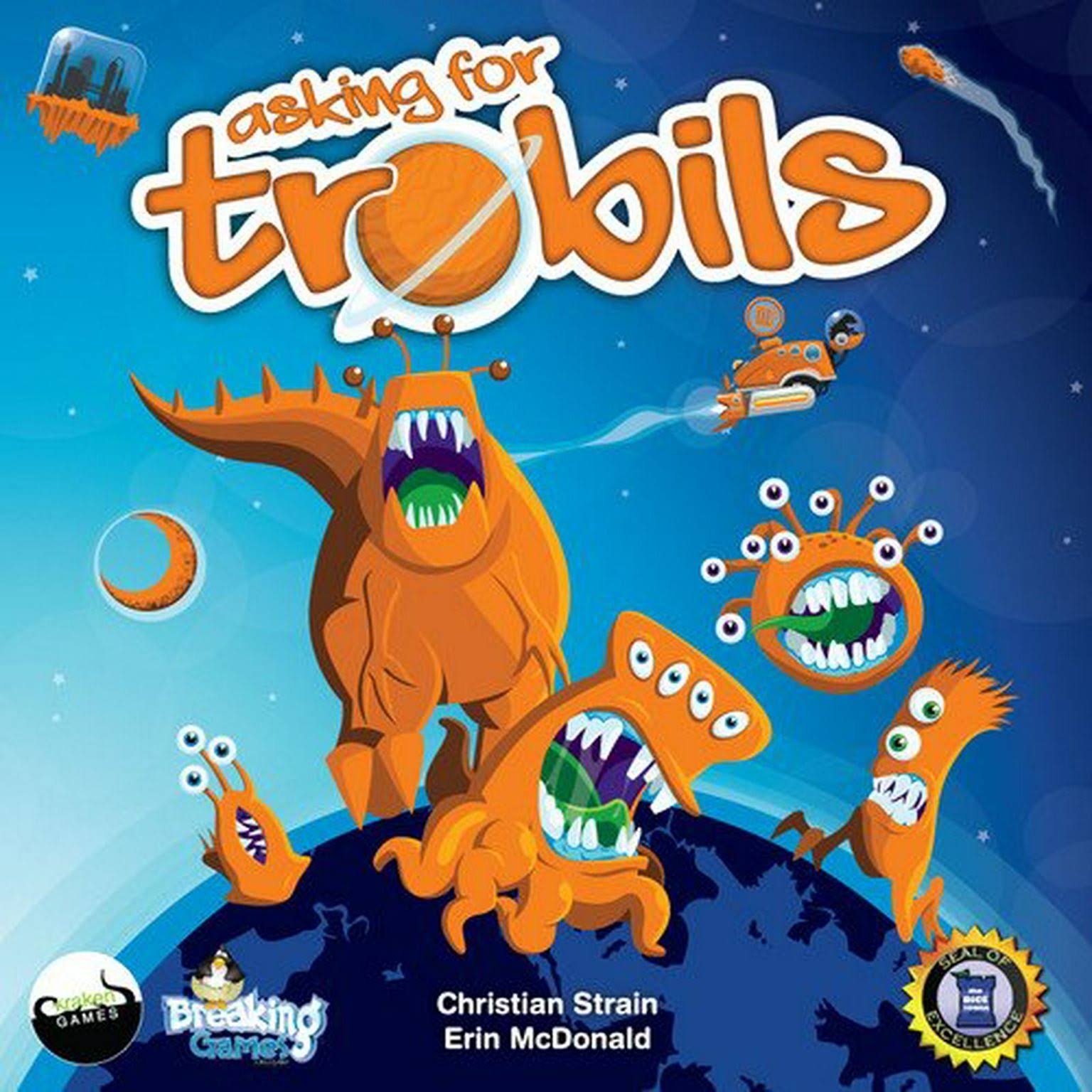 Breaking Games Asking for Trobils Board Game