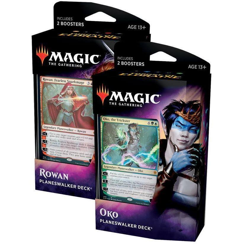 Magic The Gathering Throne of Eldraine Planeswalker Deck Box