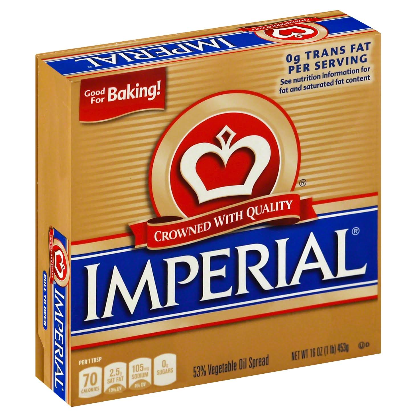Imperial Crowned With Quality 53% Vegetable Oil Spread - 453g