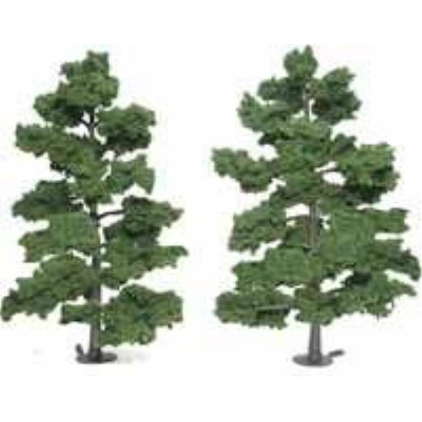 Woodland Scenics Assembled Tree Train Scenery - Medium Green, 9""