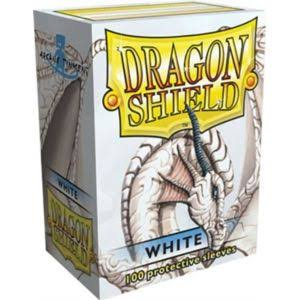 Dragon Shield Protective Sleeve - White, 100ct