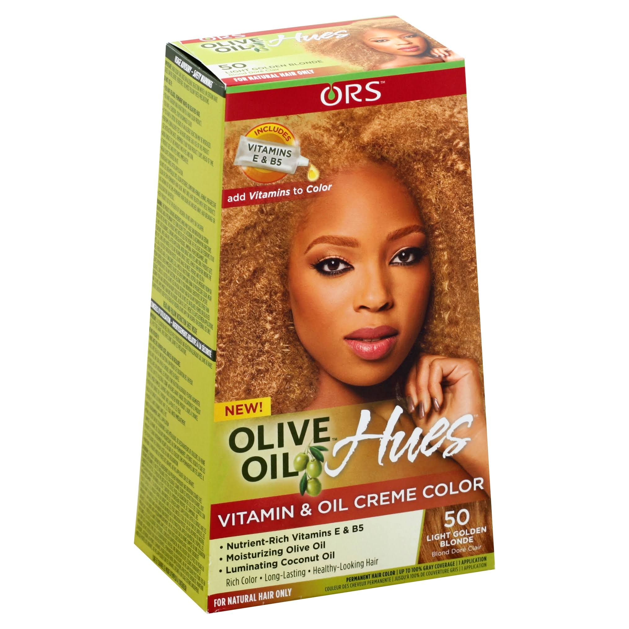 Ors Olive Oil Hues Vitamin and Oil Creme Color - 50 Light Golden Blonde