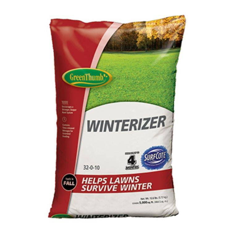 Green Thumb GT58105 Winterizer Lawn Fertilizer - with Surfcote 32-0-10
