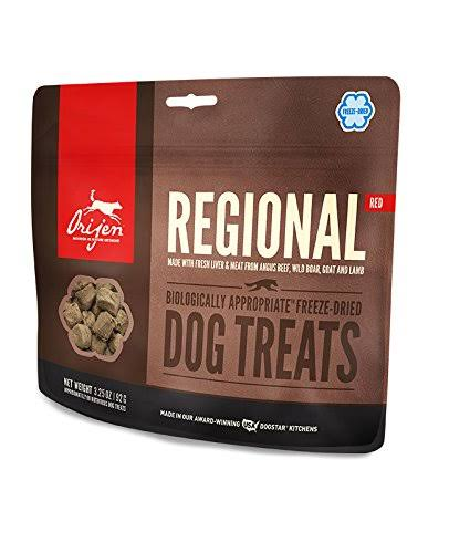 ORIJEN Freeze Dried Dog Treats, Regional Red / 1.5 oz