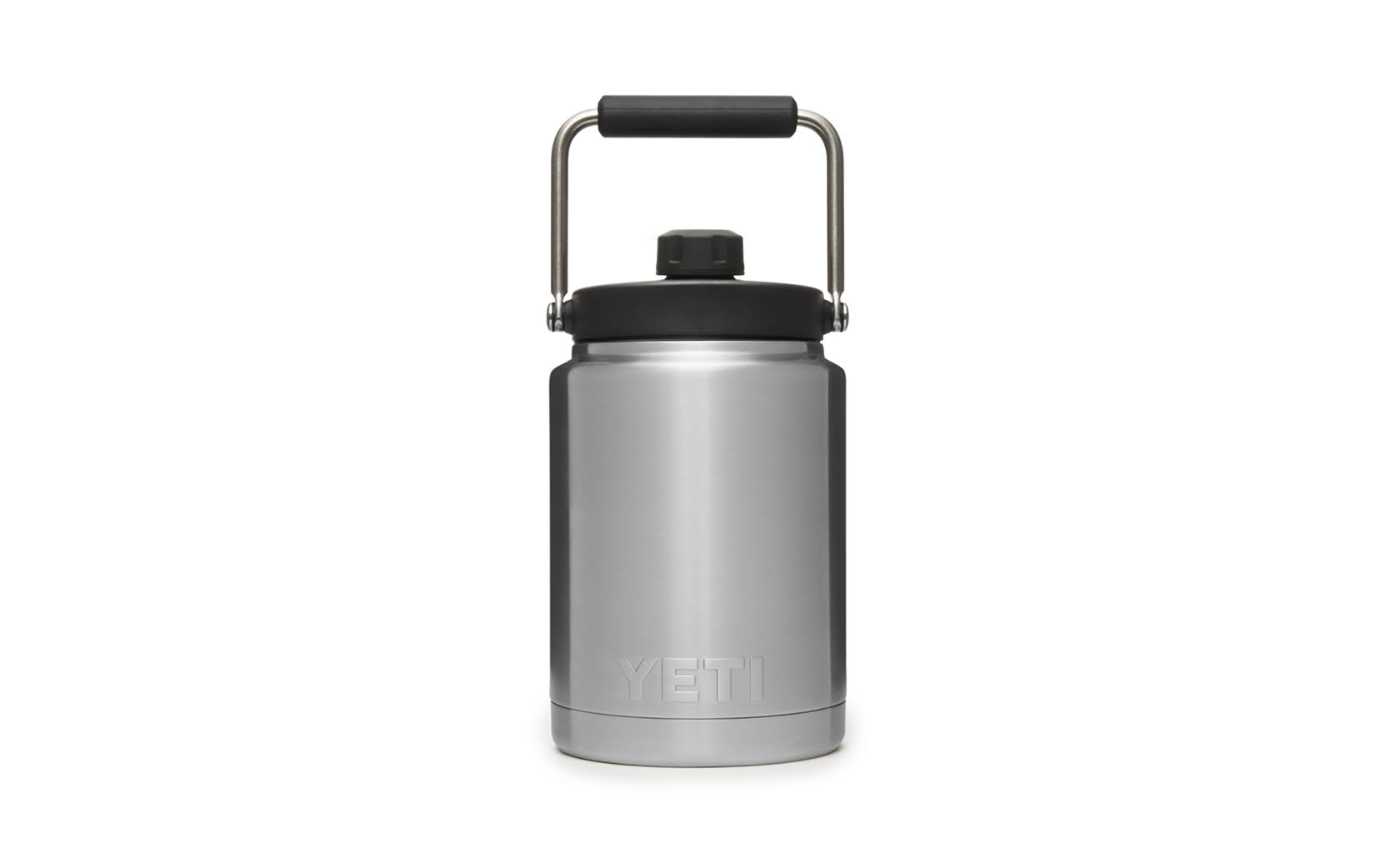 Yeti Rambler Vacuum Insulated Half Gallon Jug - Stainless Steel, with Jug Mount
