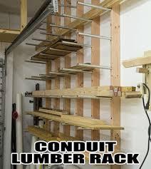 lumber storage rack plans google search design studio
