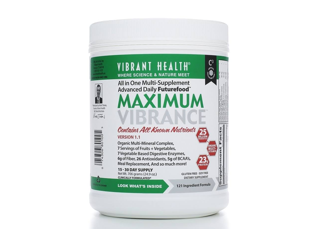 Vibrant Health Maximum Vibrance Dietary Supplement - 703.5g