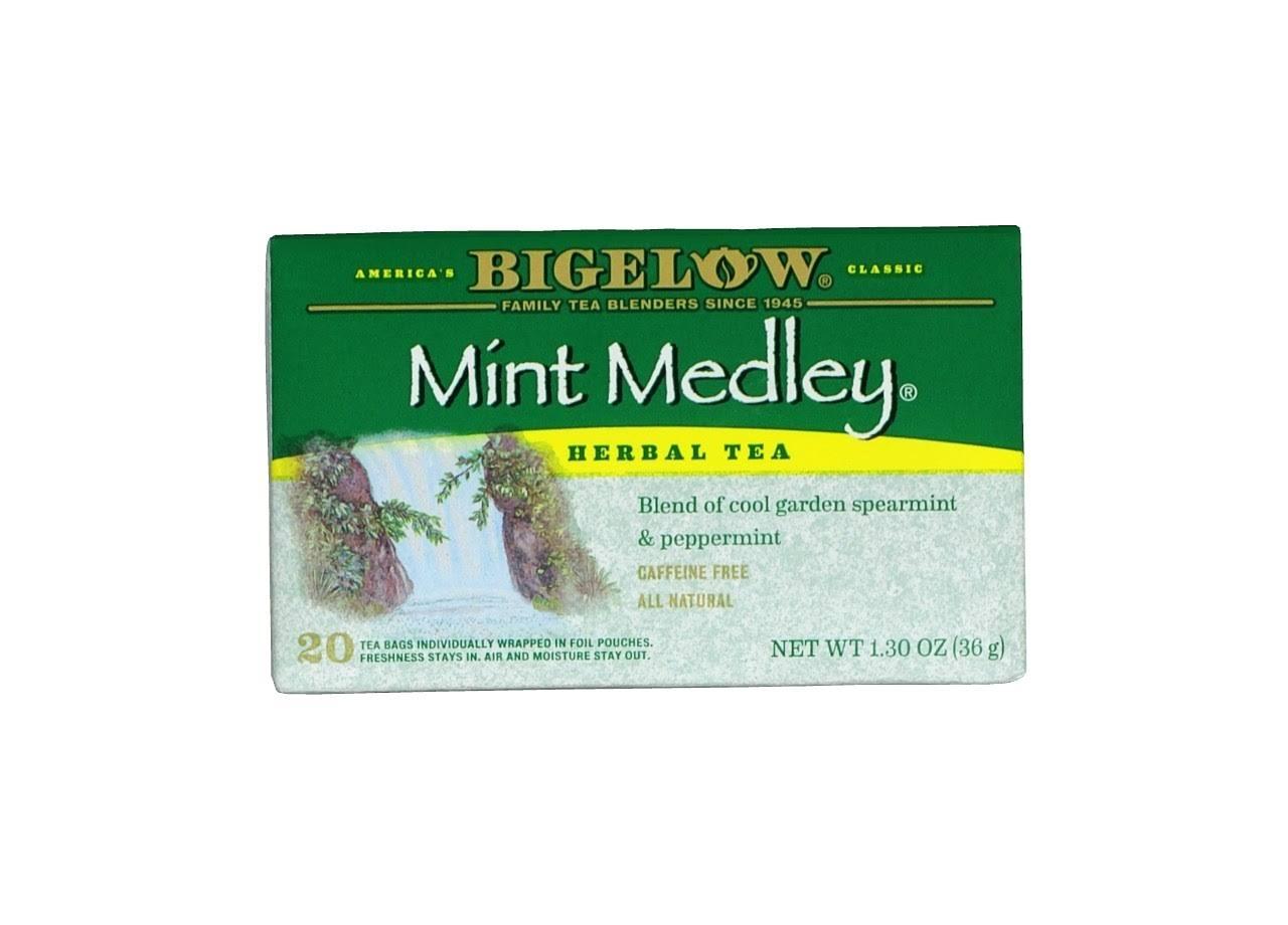 Bigelow Mint Medley Herbal Tea Bags - 20ct, 1.3oz