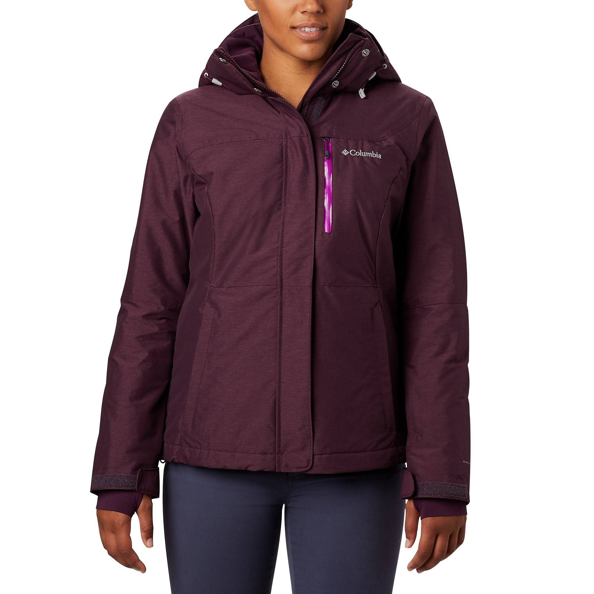 Columbia Women's Alpine Action Omni-Heat Jacket - Black Cherry