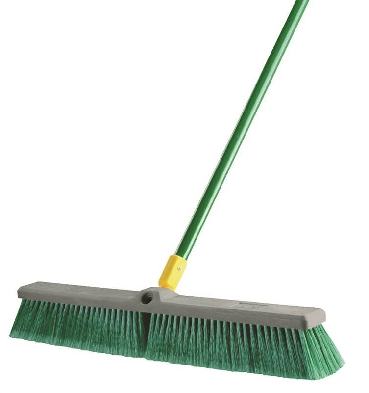 Quickie Bulldozer Multi-Surface Push Broom - 24""