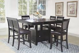 Value City Kitchen Table Sets by Kaylee Espresso Dining Room Mor Furniture For Less