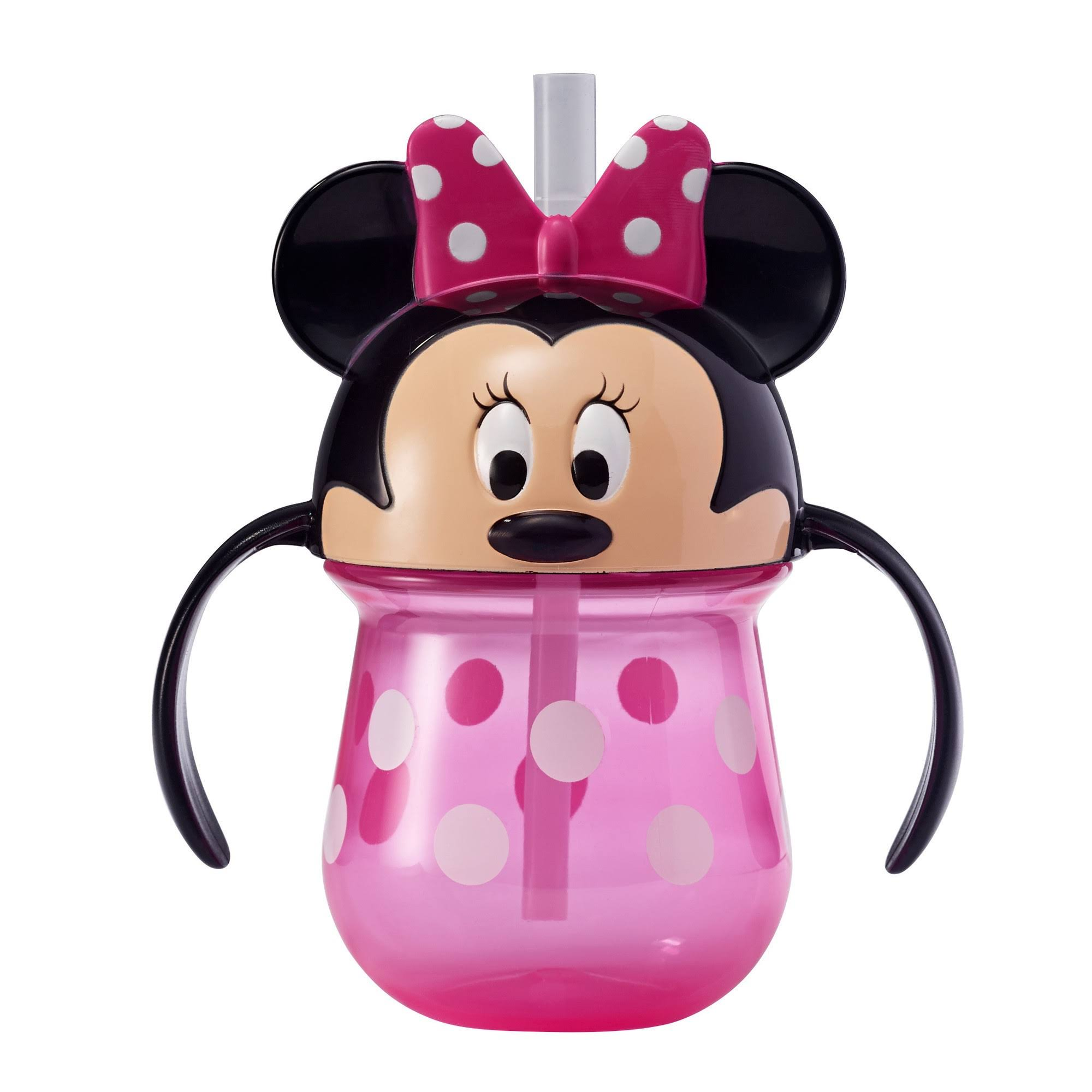 Disney Baby The First Years Minnie Mouse 7 Ounce Straw Cup with Handles