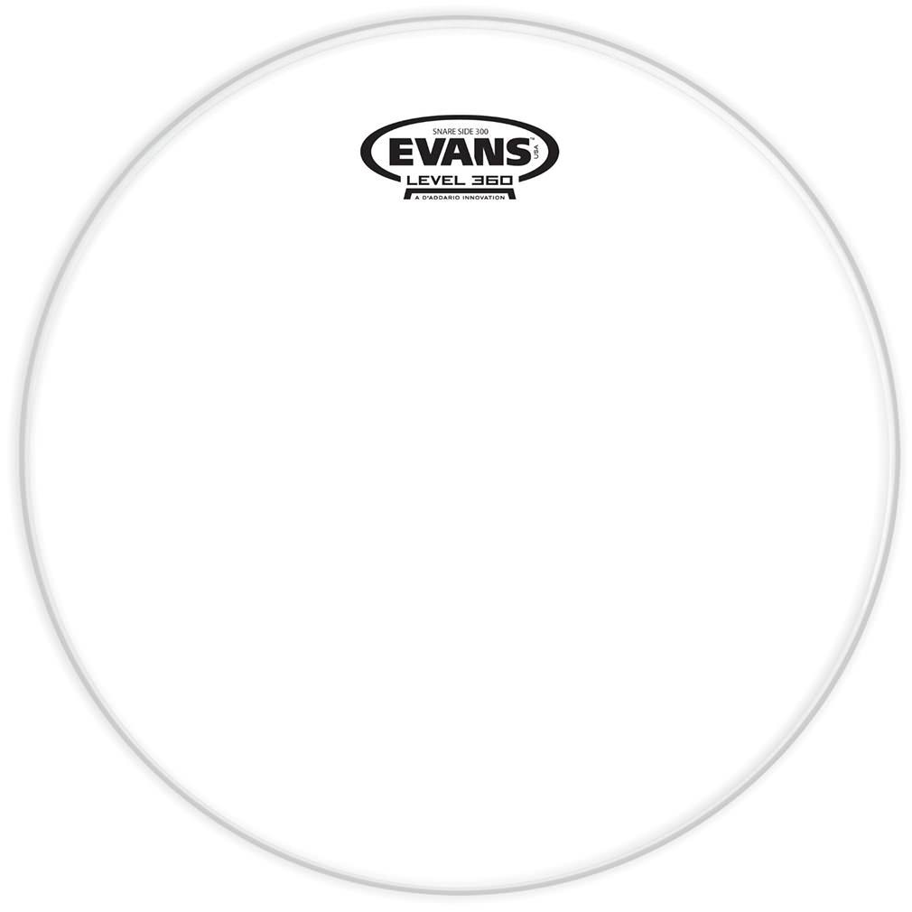 Evans Clear 200 Snare Side Drum Head - 14""