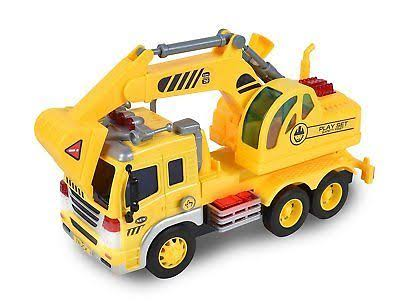 Maxx Action Construction Excavator Toy Truck
