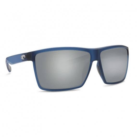 Costa Del Mar Sunglasses Rincon Matte - Atlantic Blue & Silver