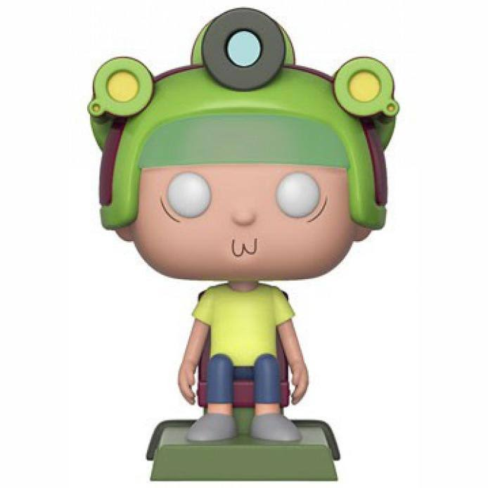 Funko Rick & Morty Pop! Animation Morty with Game Helmet Vinyl Figure