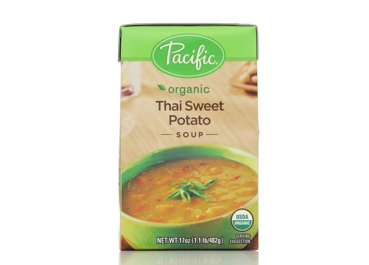 Pacific Natural Foods All Natural Soup - Thai Sweet Potato, 17oz