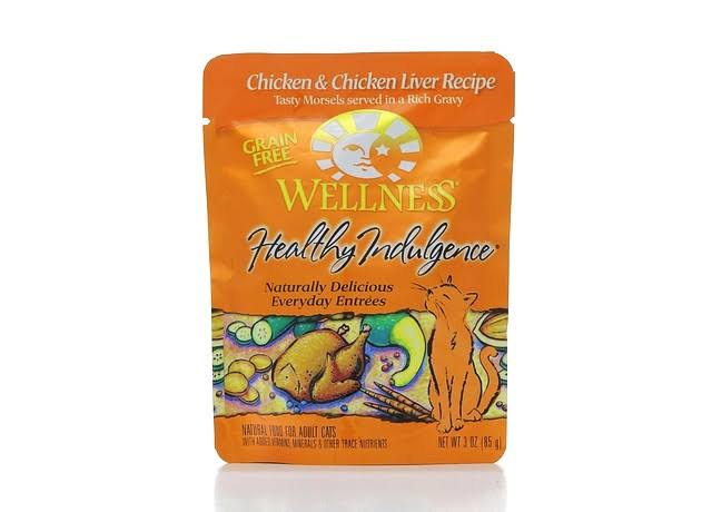 Wellness Healthy Indulgence Cat Food - Chicken And Chicken Liver