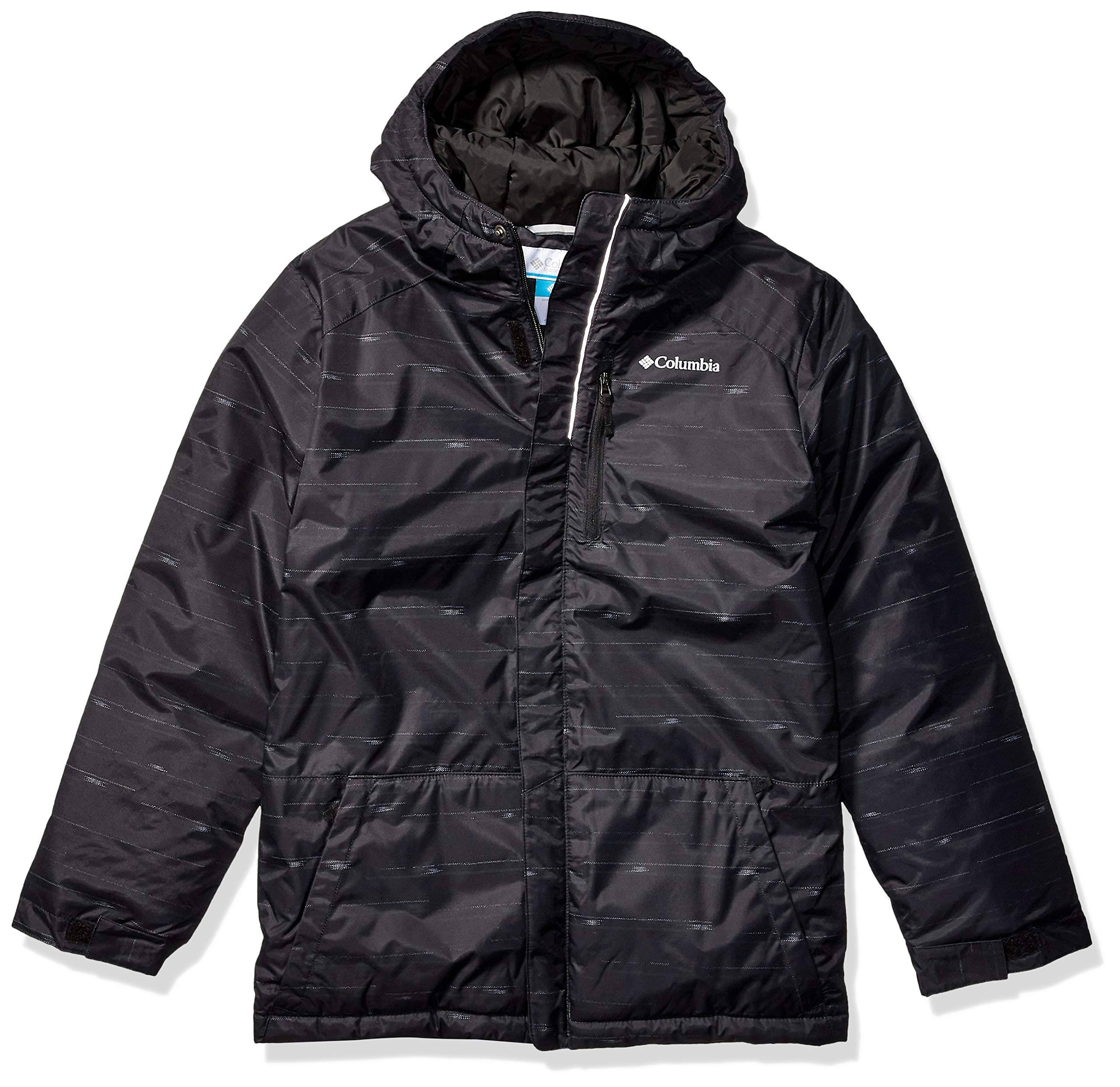Columbia Boys' Lightning Lift Jacket - XXS - Black Stripe