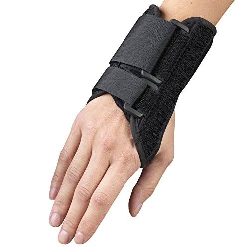 OTC Lightweight Breathable 6in Wrist Splint - Black, S, Right