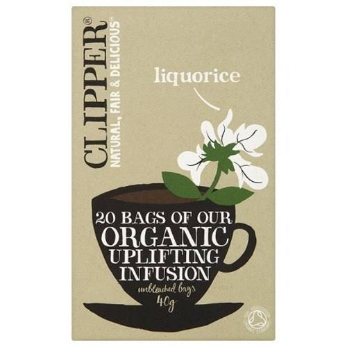 Clipper Organic Tea - Liquorice, 20 Tea Bags, 40g