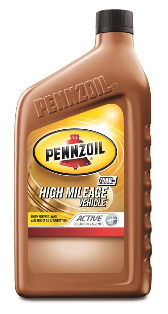 Pennzoil 5W-30 High Mileage Vehicle Motor Oil - 1qt