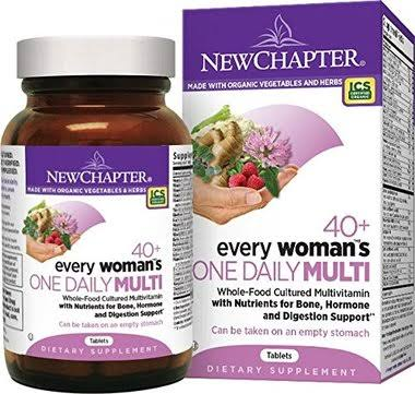 New Chapter 40 Plus Every Woman's One Daily Multivitamin Supplement - 96 Tablets