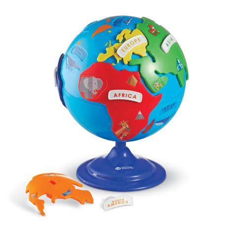 Learning Resources Puzzle Globe - 14 Pieces