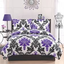 Lavender And Grey Bedding by Bedroom Black And White And Purple Bedding Medium Marble Alarm
