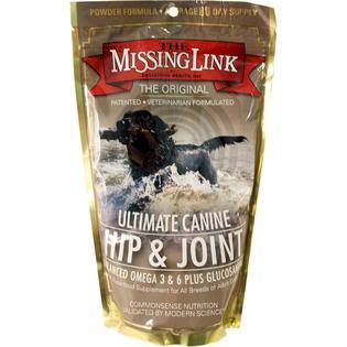 The Missing Link Ultimate Hip Joint and Coat Dog Supplement - 1lb