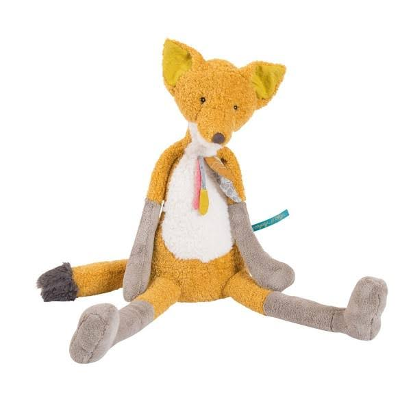 Moulin Roty Chaussette The Large Fox Le Voyage d'Olga Soft Toy