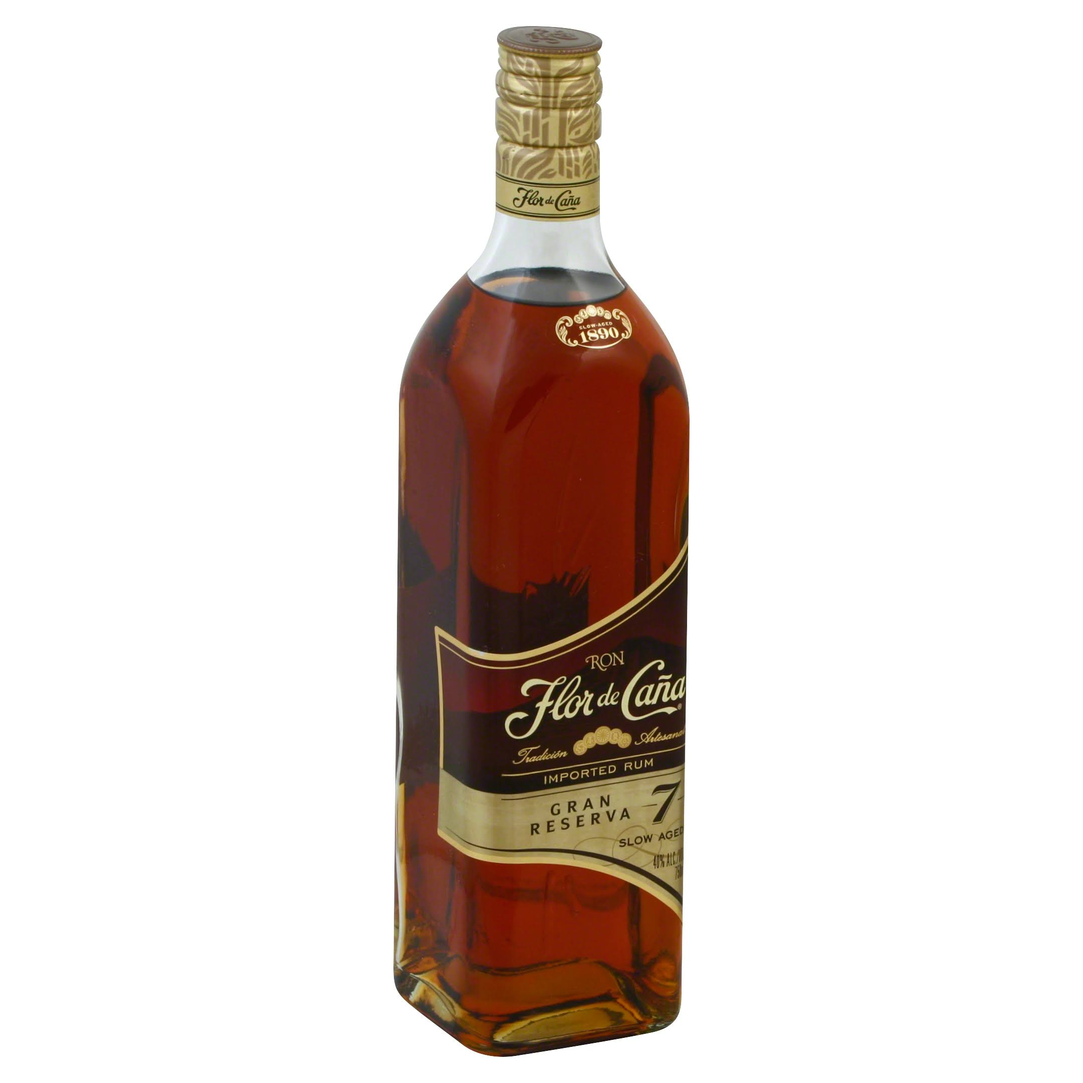 Flor De Cana 7 Year Old Grand Reserve Rum - 750ml
