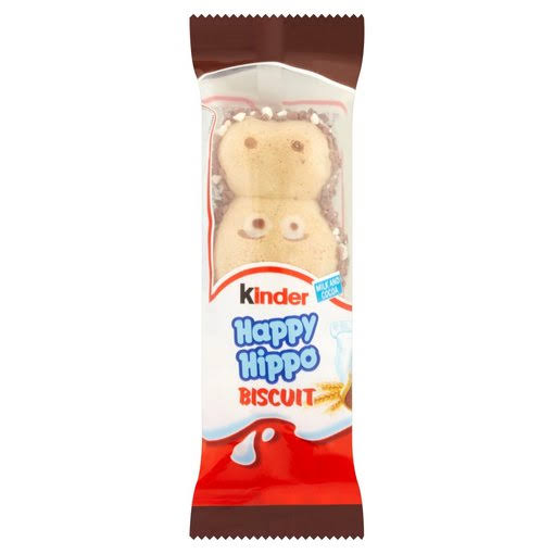 Kinder Happy Hippo Chocolate Biscuit Single Bar - 20.7g