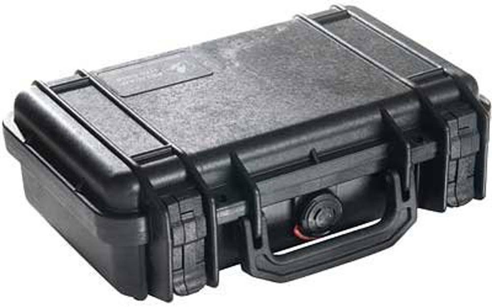 Pelican Black Watertight Hard Case