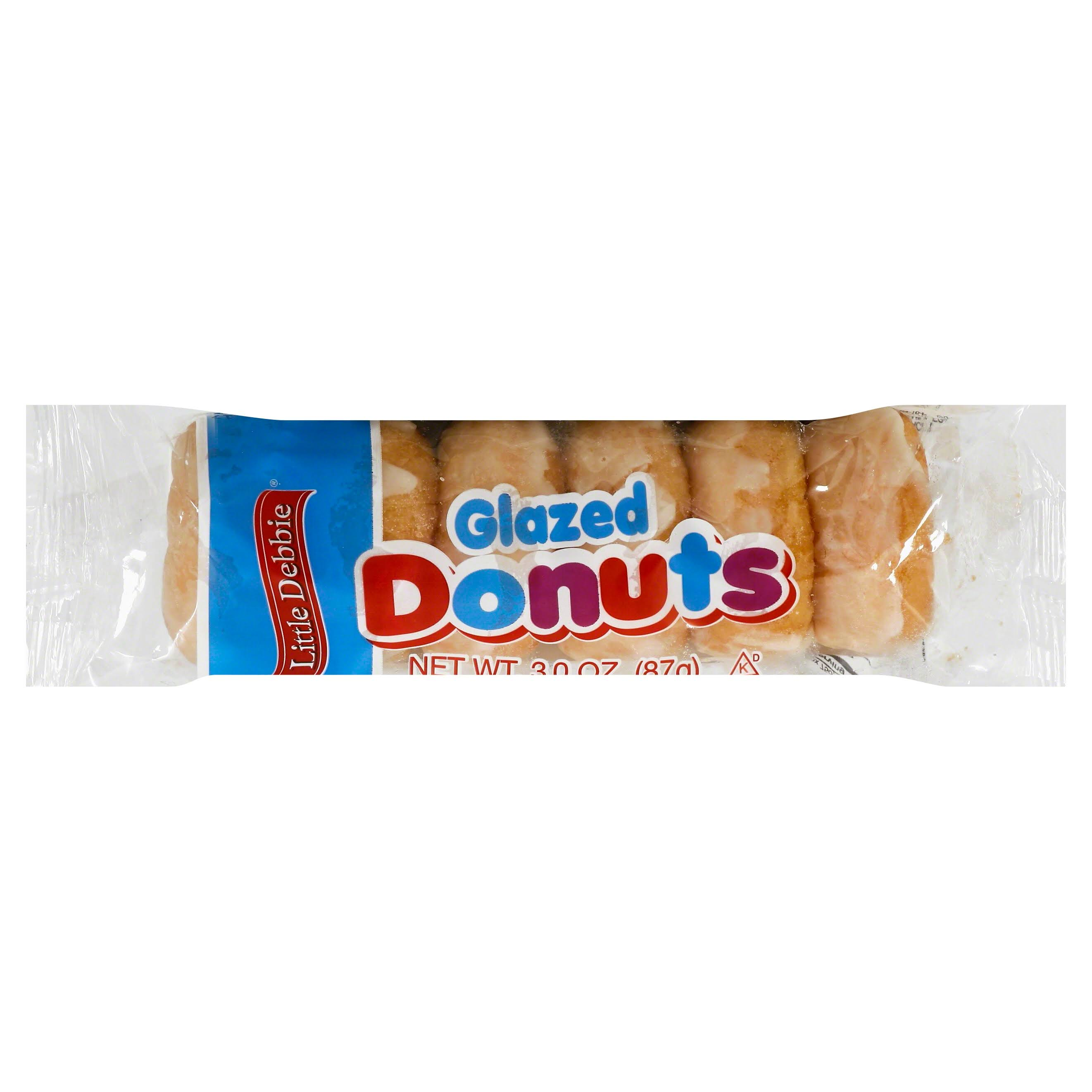 Little Debbie Glazed Mini Donuts - 3oz