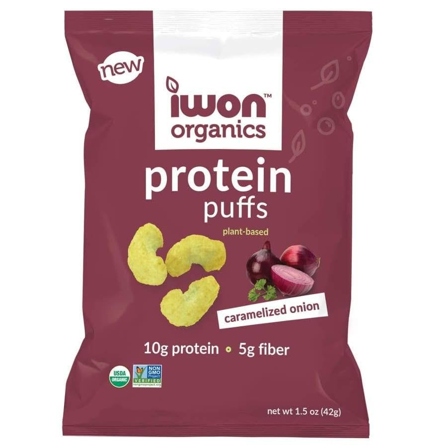 iWon Organics Protein Puffs, Caramelized Onion
