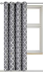 Moroccan Tile Curtain Panels by Printed Blackout Room Darkening Printed Curtains Window Panel