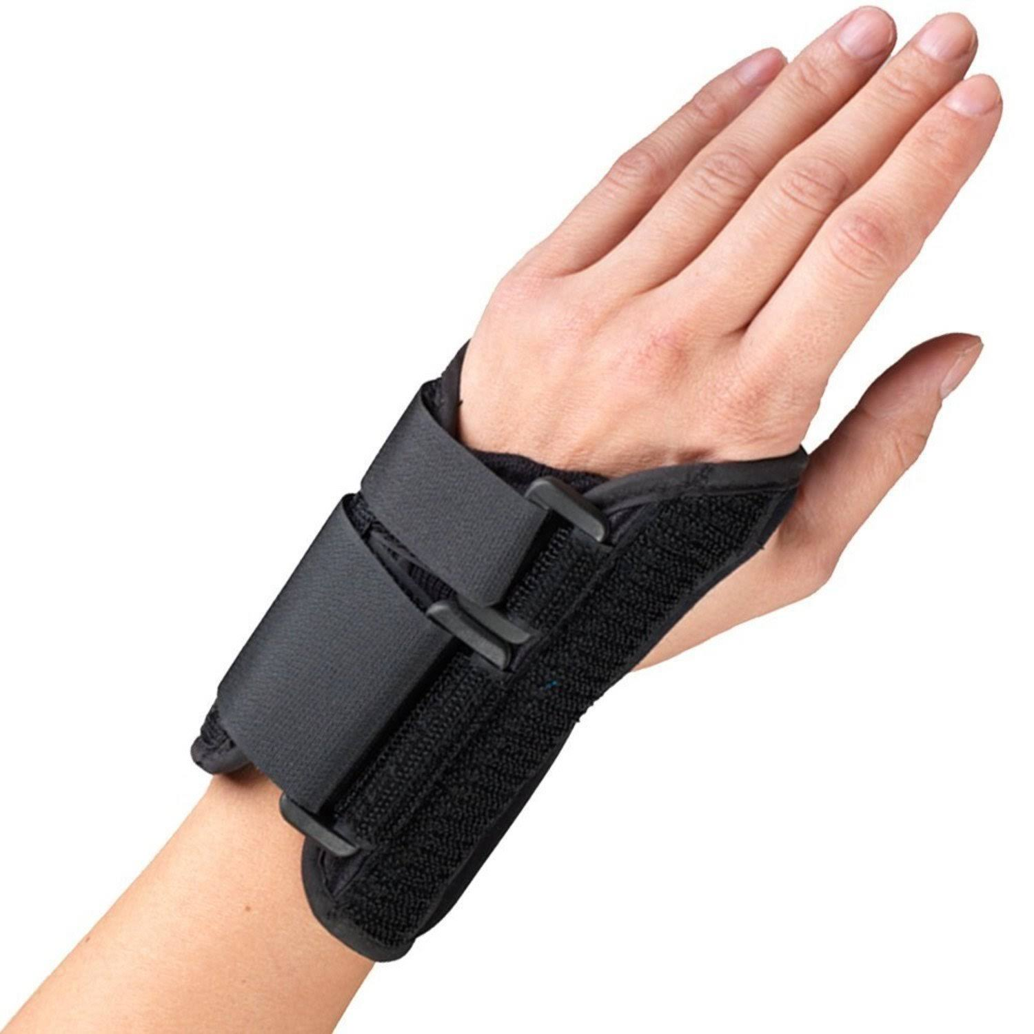 OTC 6in Wrist Splint - Left, Black, M
