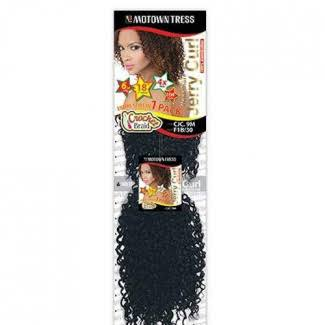 Motown Tress Crochet Jerry Curl 9M - Kanekalon Braiding Hair