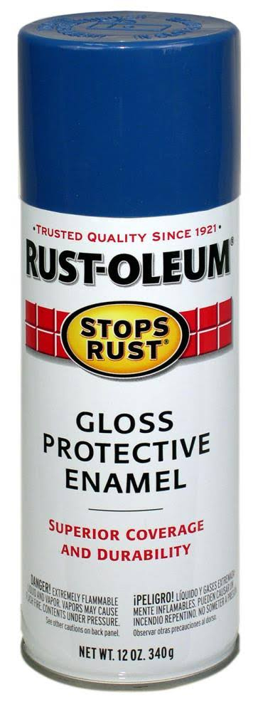 Rust-Oleum Gloss Enamel Spray Paint - Royal Blue, 12oz