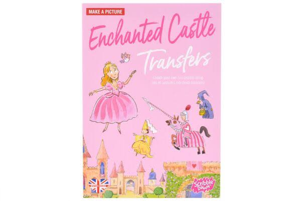 Scribble Down Enchanted Castle
