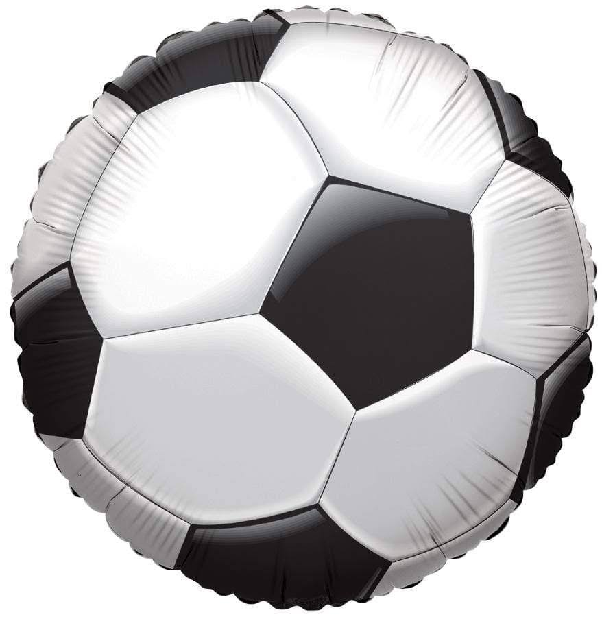 Soccer Ball Happy Birthday Mylar Foil Balloon - 18""