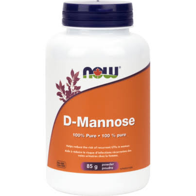 Now D - Mannose Powder Supplement - 85g