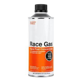 Race Gas 100016 High Octane Concentrate Fuel Additive - 16oz